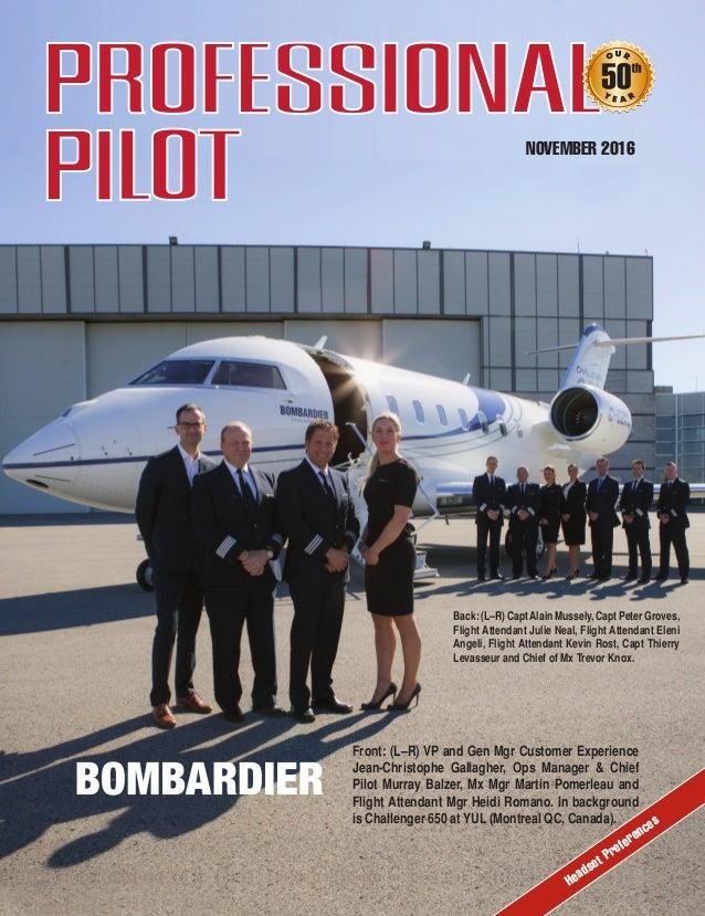 Professional Pilot November 2016