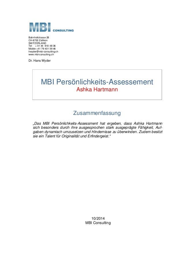 Bahnhofstrasse 28 CH-8702 Zollikon SWITZERLAND Tel + 41 44 910 48 36 Mobile +41 79 401 59 46 hwyder@mbi-consulting.ch www....