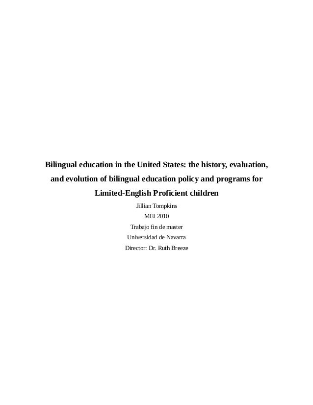 Tompkinstesina bilingual education in the united states the history evaluation and evolution of bilingual sciox Image collections
