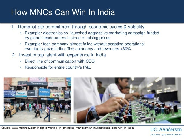How multinationals can win in India