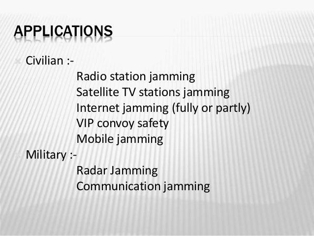 All in 1 jammer - RF Radio Jamming 10 Meters