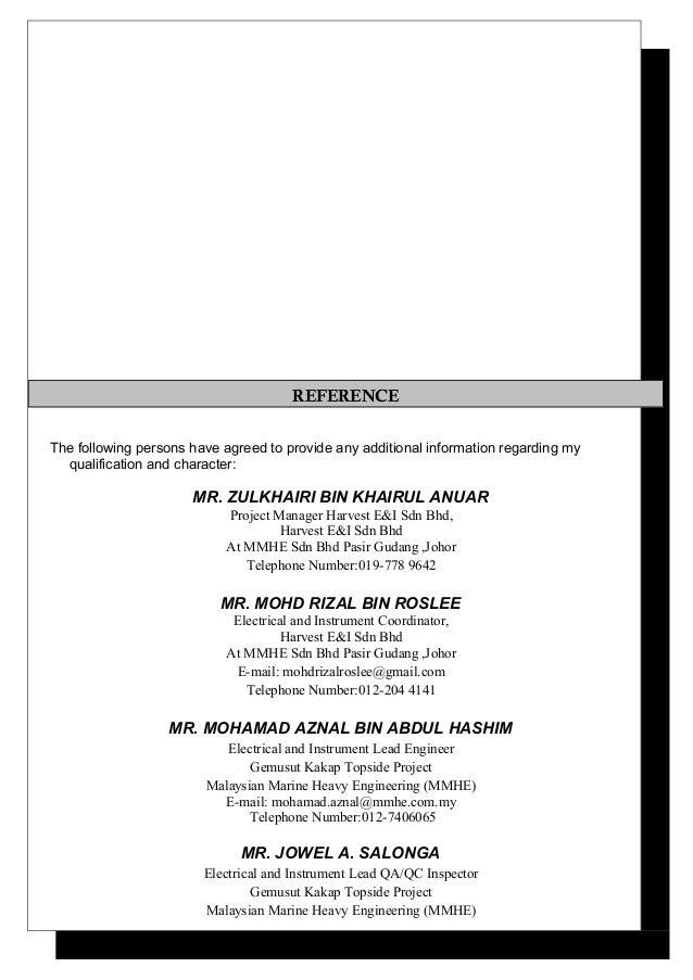 Resume Mohd Faisal