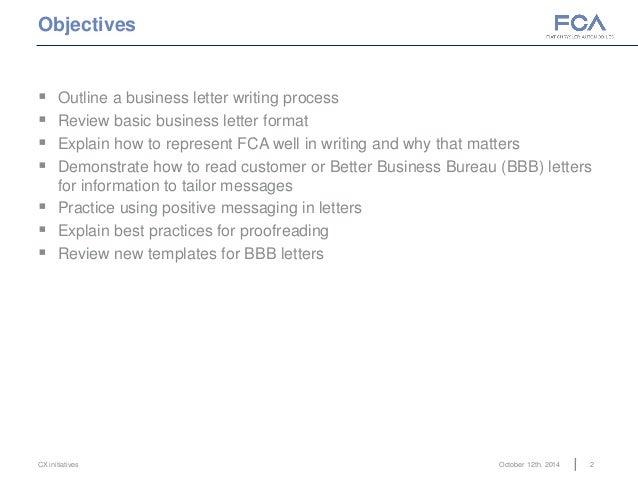 business writing basics