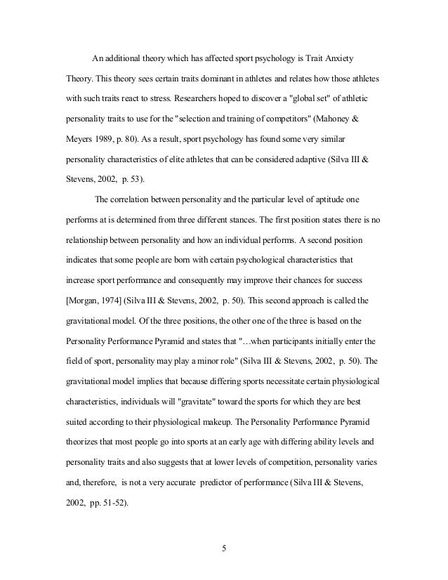 sport essay example