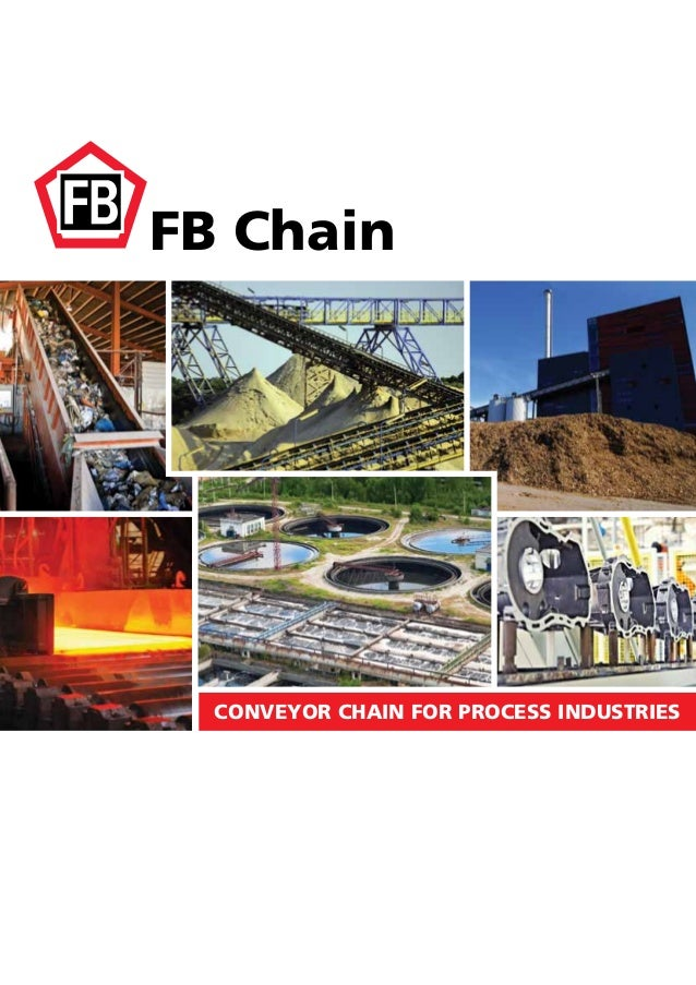 FB Chain CONVEYOR CHAIN FOR PROCESS INDUSTRIES