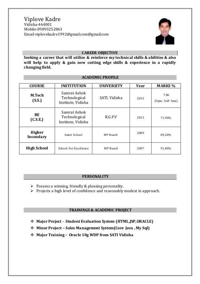 vip resume