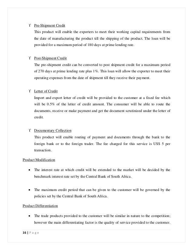 royal bank business plan