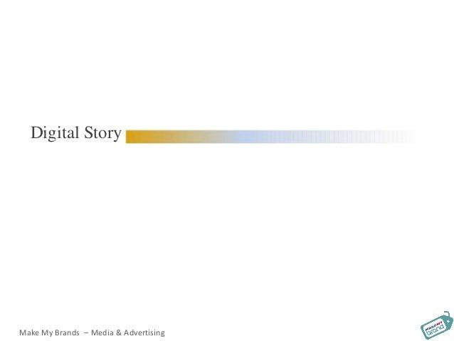 Digital Story Make My Brands – Media & Advertising