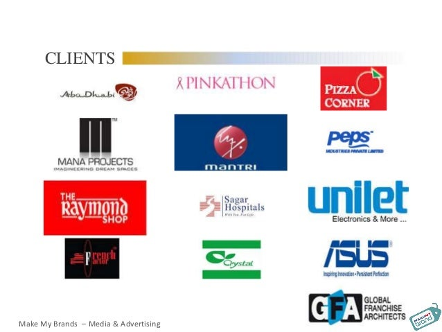 CLIENTS Make My Brands – Media & Advertising