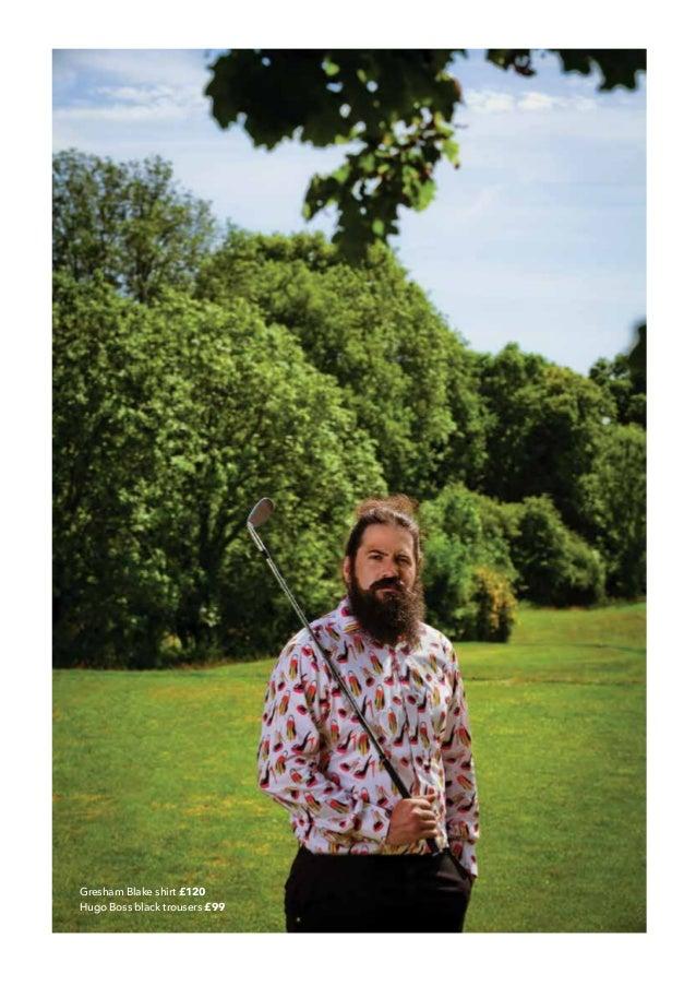 49a784a52953c Gresham Blake shirt £120 Hugo Boss black trousers £99  26.
