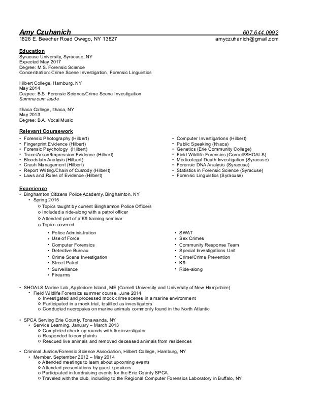forensic scientist cover letter - Akba.greenw.co