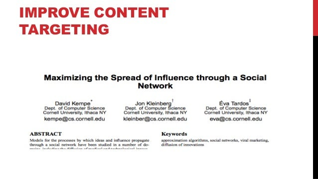 DataEngConf: The Science of Virality at BuzzFeed