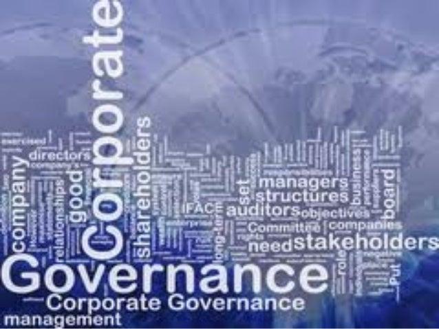 Corporat e Governance