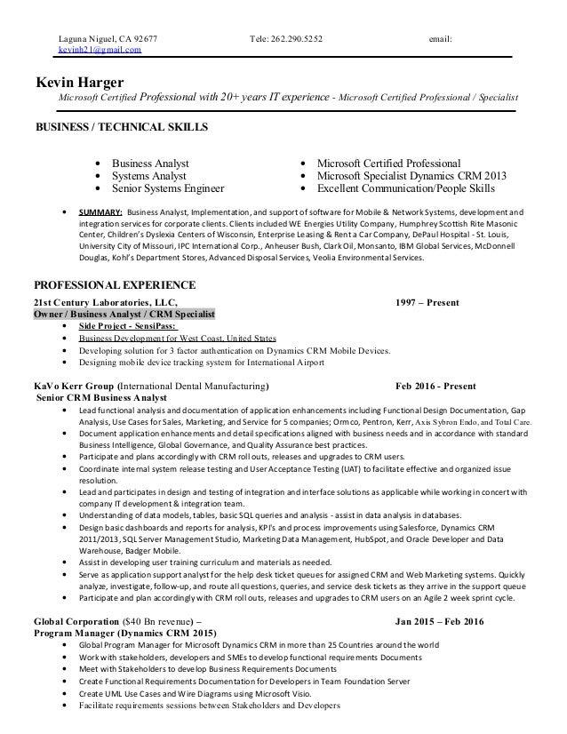 Ba 5 16 Tech Resume Kevinharger2