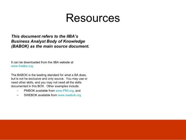Ba Skills And Knowledge Audit Slide 3