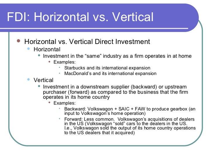 foreign direct investment starbucks case Chapter 6 intel: a case study of foreign direct investment in central america felipe larraín, luis f lópez-calva, and andrés rodríguez-clare.