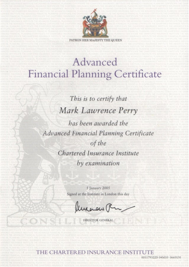 insurance institute advanced diploma mark perry chartered insurance institute advanced diploma mark perry
