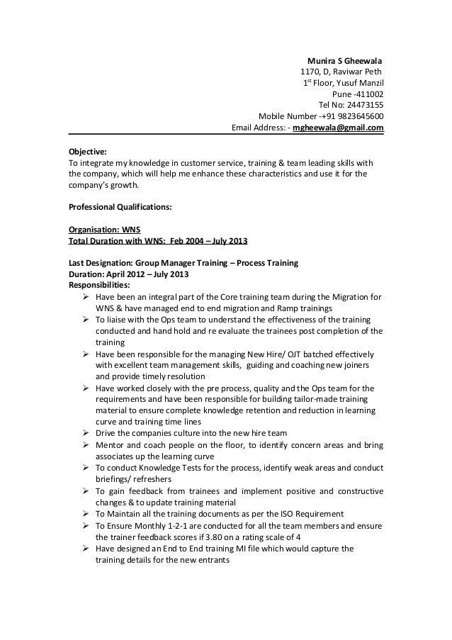 Generic Resume-Munira 1.2 16122013