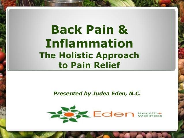 Alternative Medicine for Back Pain