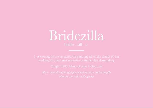 Afbeeldingsresultaat voor bridezilla meaning