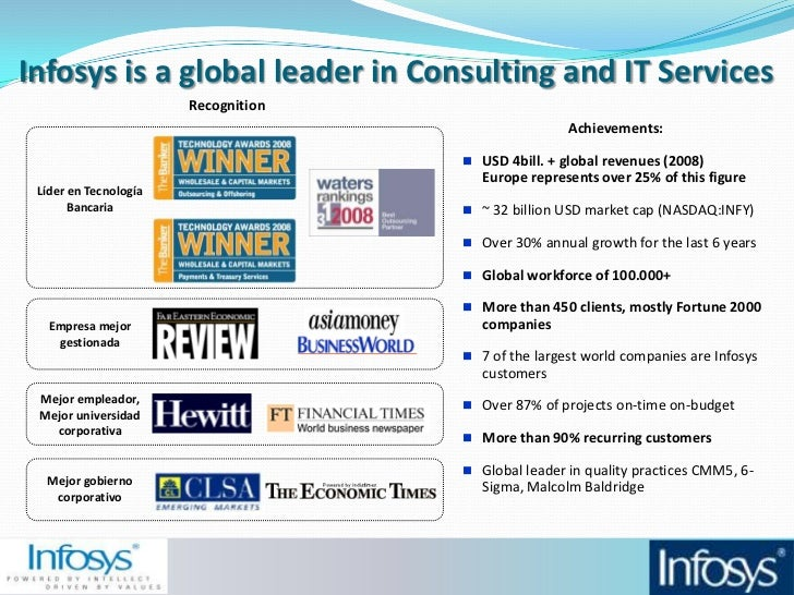 Infosys consulting in 2006 leading the next generation of business and information technology consul