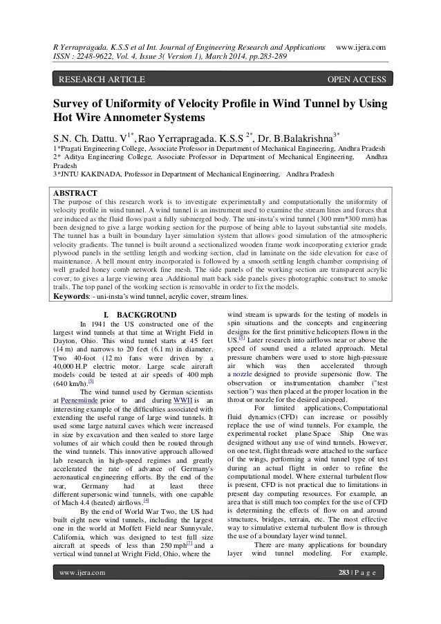 R Yerrapragada. K.S.S et al Int. Journal of Engineering Research and Applications www.ijera.com ISSN : 2248-9622, Vol. 4, ...