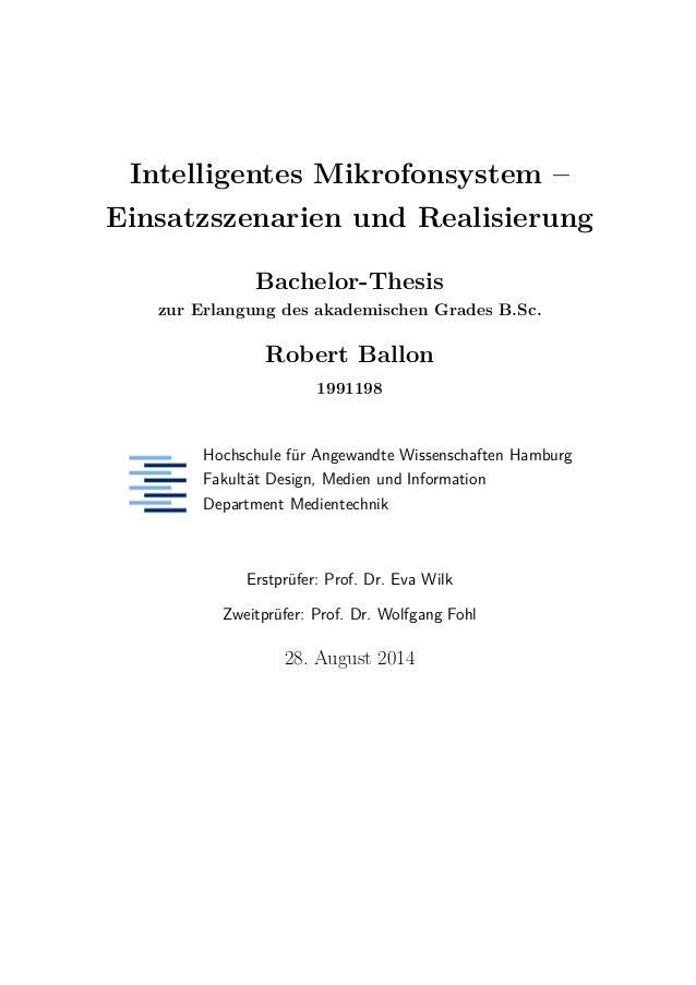 master thesis zweitprüfer