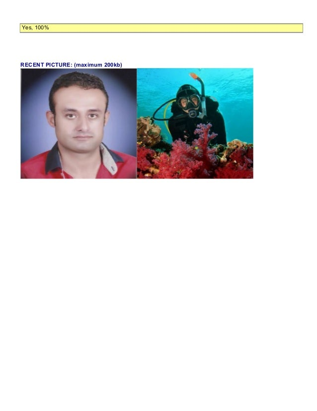 cv scuba diving instructor resume