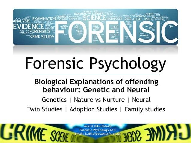 criminal psychology case studies