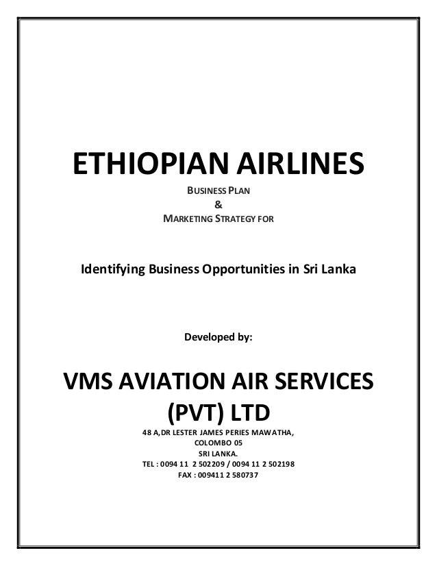 ethiopian airlines online proposal