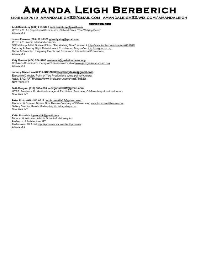 resume for painter