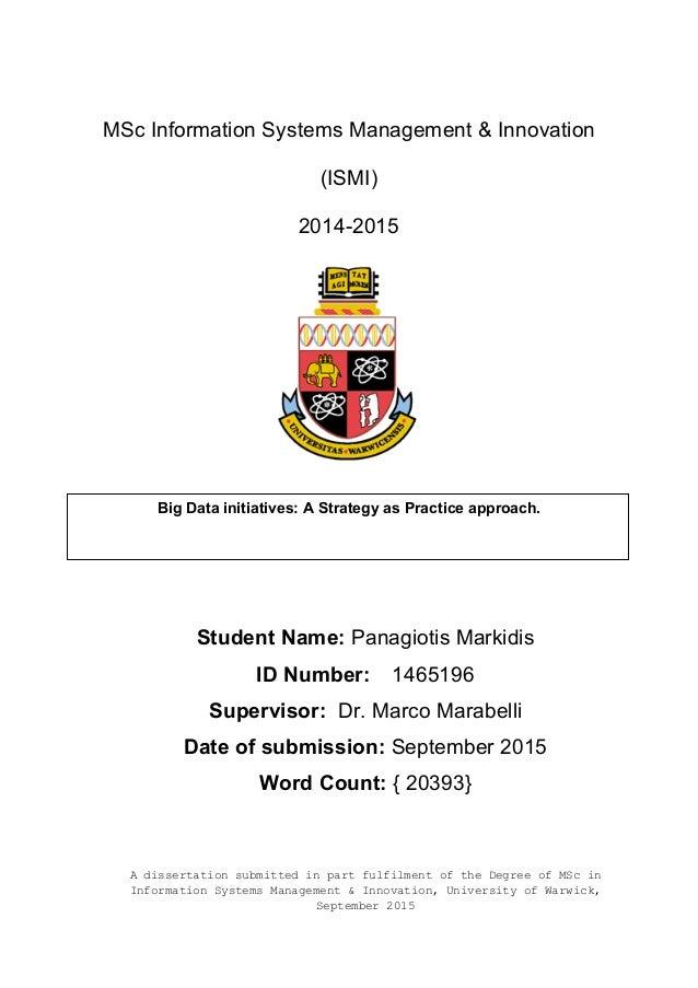 dissertation extension warwick