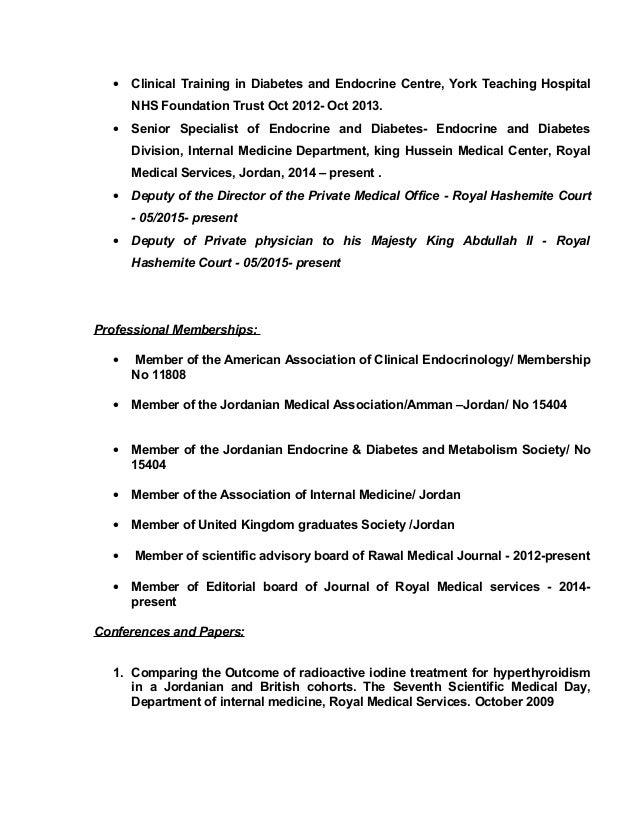 Dr.Khaldon Al-Sarihin CV