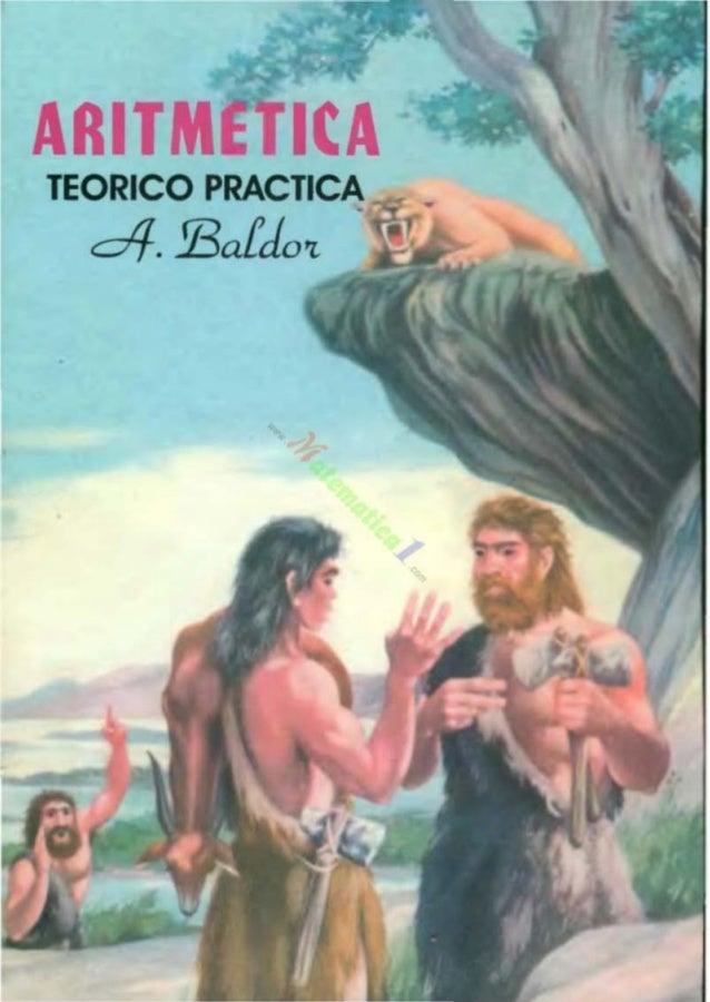 ARITM TEORICO PRACTICA dl-. !Baldo't