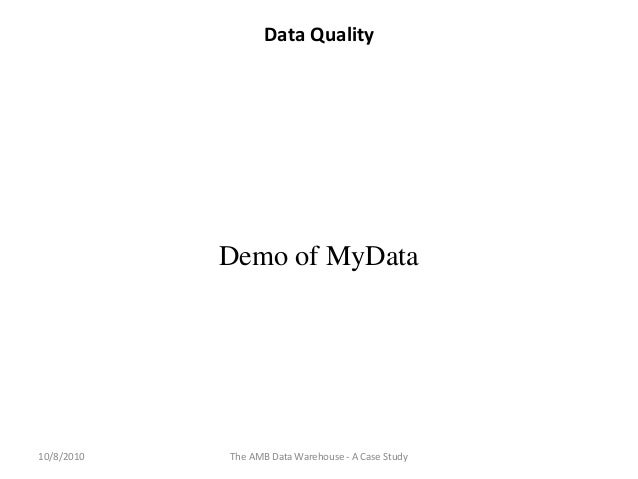 data warehouse case study questions