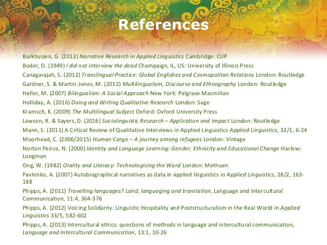 Suresh Canagarajah's Translingual Practice