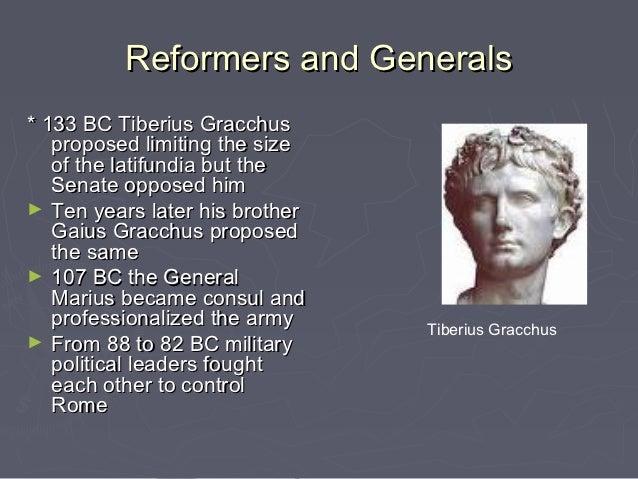 tiberius and gaius gracchus
