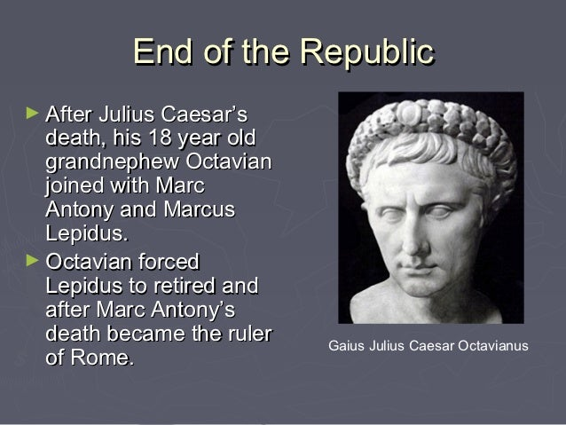 the political atmosphere after the death of julius caesar Suetonius on the death of caesar  julius caesar on 15 march 44 bce, the roman dictator julius caesar was murdered there are several accounts of this incident,.