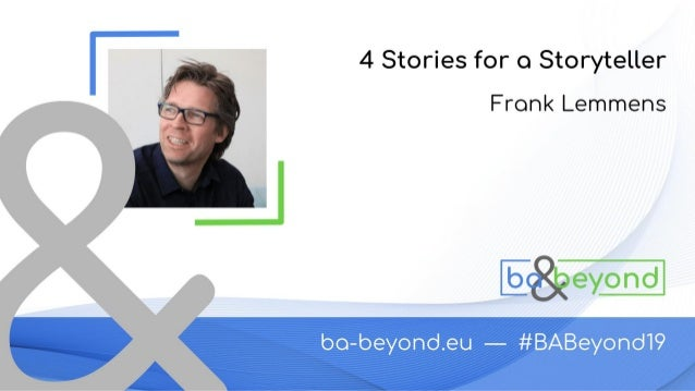 1. WHO IS VRT 2. THE STORYBOOK 3. OUR A-MODELS Technology & Innovation - Frank Lemmens