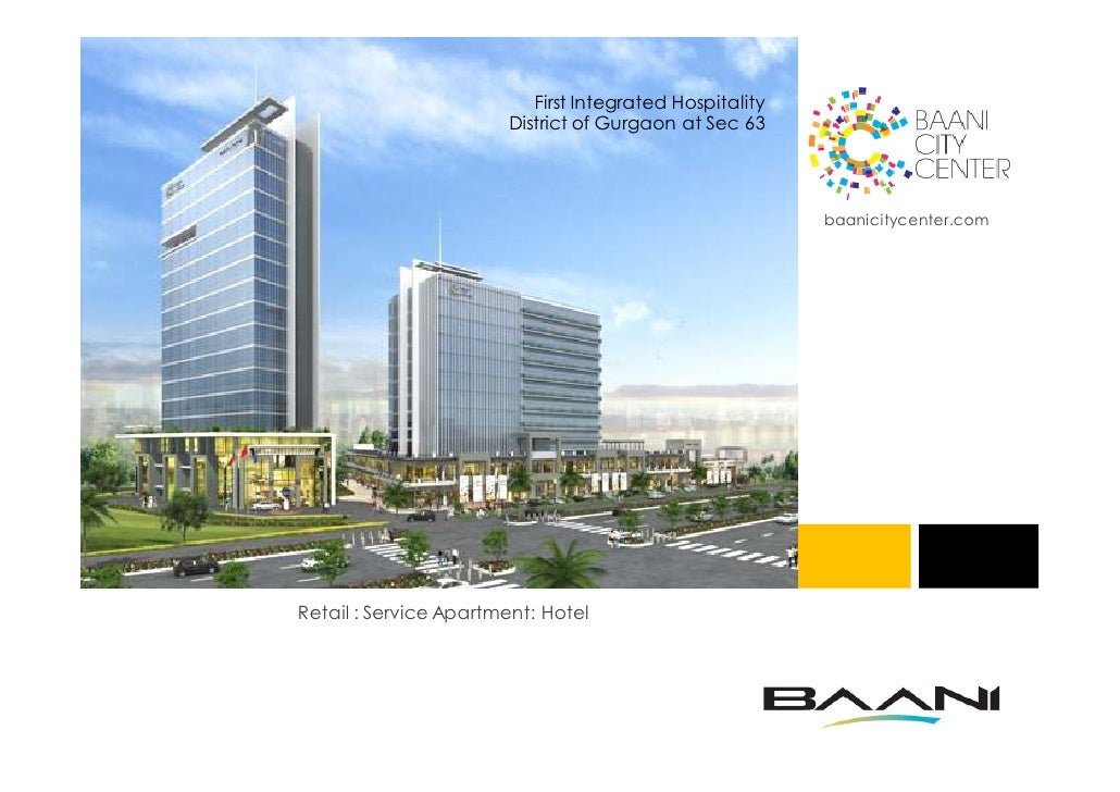 First Integrated Hospitality                       District of Gurgaon at Sec 63                                          ...