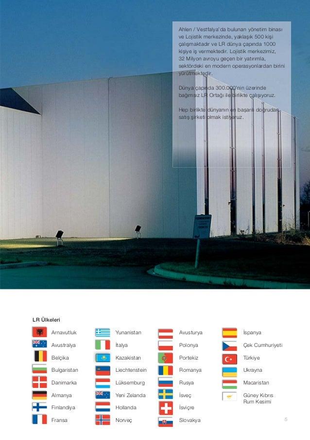 5 LR Ülkeleri Arnavutluk Avustralya Belçika Bulgaristan Danimarka Almanya Finlandiya Fransa Yunanistan İtalya Kazakistan L...