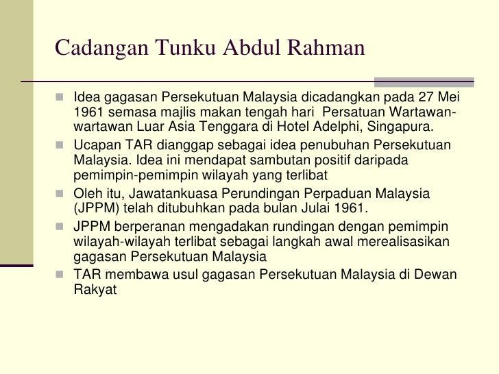 Petikan Ucapan Tunku Abdul Rahman Pada 3 Jun 1957