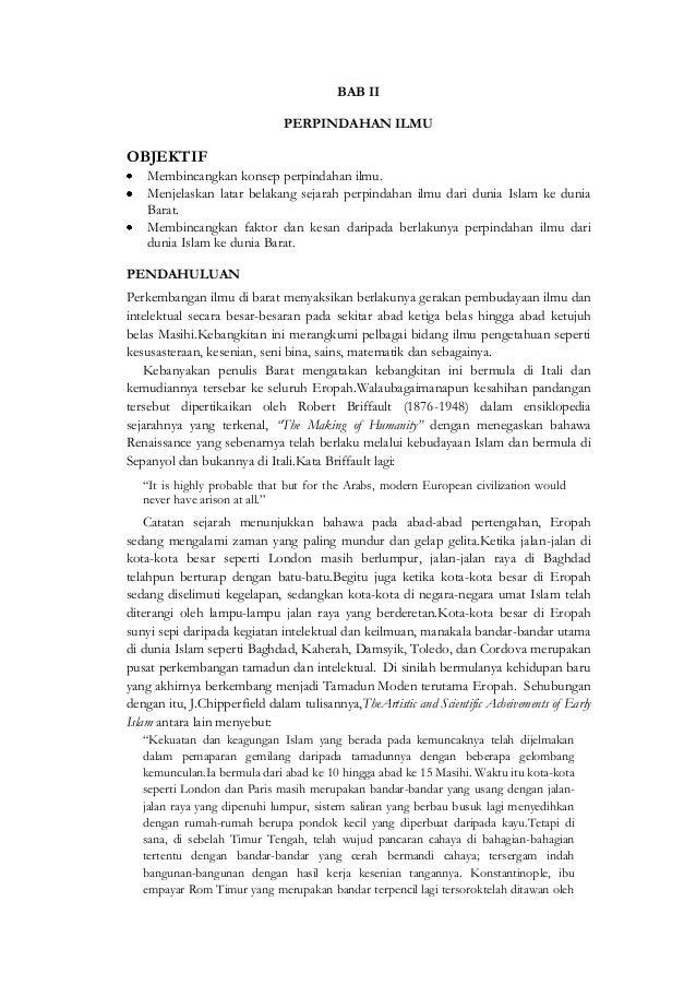 BAB II                               PERPINDAHAN ILMUOBJEKTIF    Membincangkan konsep perpindahan ilmu.    Menjelaskan lat...