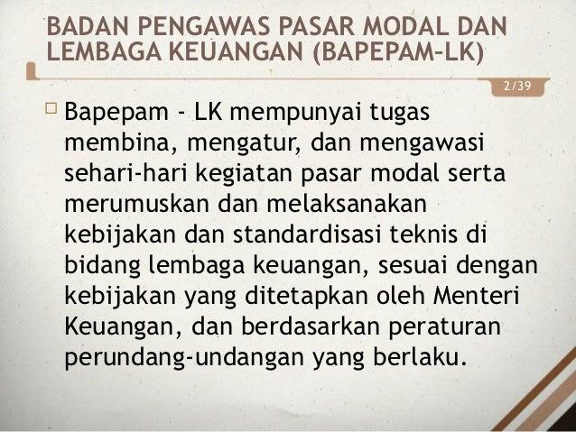 PASAR MODAL  Slide 3