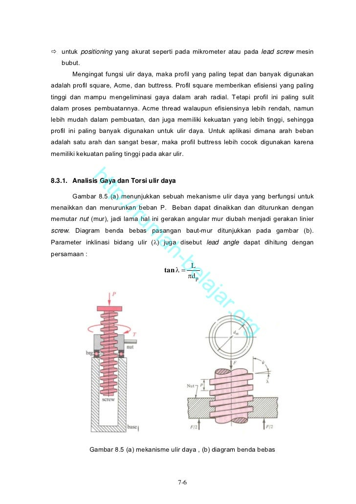 Bab 08 screws fasteners and connection syarif 6 untuk ccuart Images