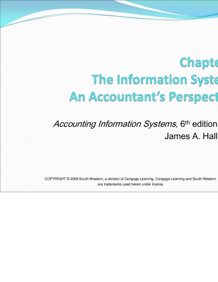 Accounting Information Systems, 6th edition                                                                         James ...