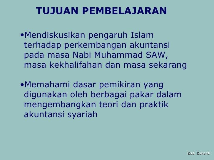 Bab 1 Sejarah Perkembangan Akuntansi Syariah