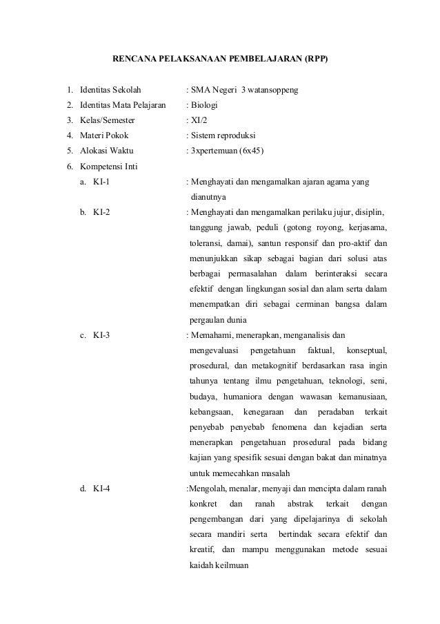Bab 10 Sistem Reproduksi Kurikulum 2013 Biologi Kelas 2