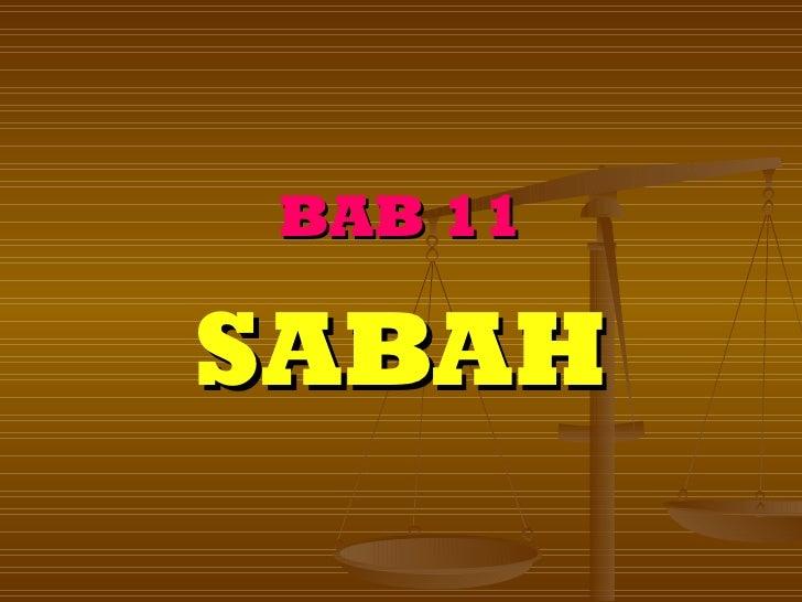 BAB 11SABAH