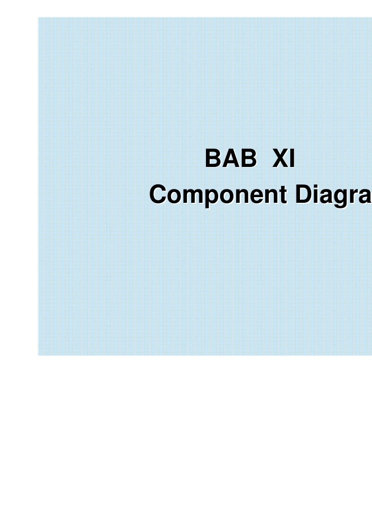 BAB XIComponent Diagram